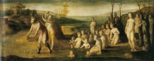 III – Re Amfizione Terzo re di Atene