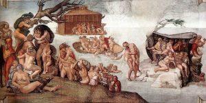 Diluvio Universale: Deucalione e Pirra sopravvissero