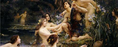 V – Pasitea La Regina ninfa nereide sposa di Re Erittonio