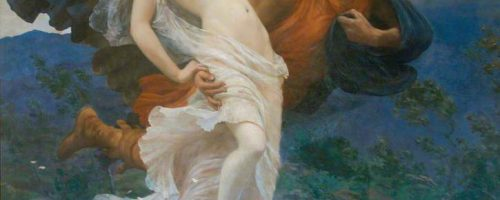 VIII D – Orizia sposa del dio del Vento Borea